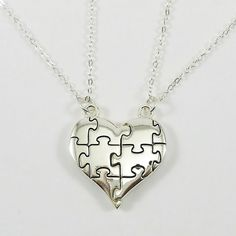 Shields of Strength - Puzzle Piece Split Heart Rhodium Plated Necklace-Genesis 31:49, $17.99 (http://www.shieldsofstrength.com/puzzle-piece-split-heart-rhodium-plated-necklace-genesis-31-49/)