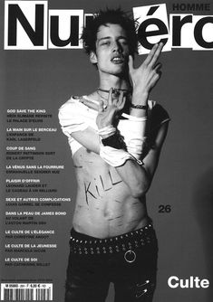 Sylvester Ulv Covers Numéro Homme