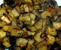 Melanzane a funghetto: Ricetta Siciliana