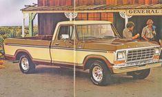 Ford Ranger Lariat de 1979. Fotografía de un folleto de la empresa Ford Motor…
