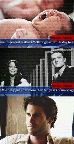 Haha! I love it! Team Peeta! :)