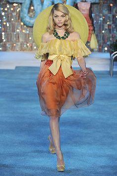Christian Dior Resort 2009 Fashion Show - Magdalena Frackowiak