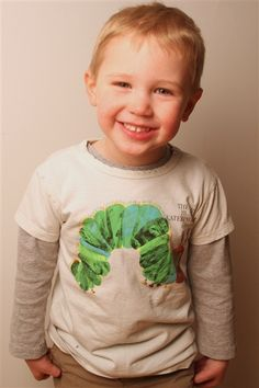 The Very Hungry Caterpillar book cover t-shirt