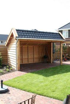 Backyard Pavilion, Backyard Garden Design, Balcony Garden, Open Shed, Modern Gazebo, Hot Tub Gazebo, Small Barns, Backyard Kitchen, Bbq Area