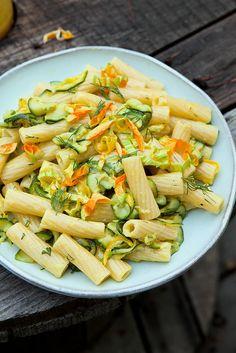 Zalige courgettepasta uit Abruzzo - Zucchini Pasta from Abruzzo