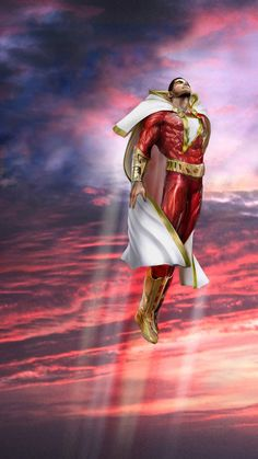 """Shazam (=^.^=) Thanks, Pinterest Pinners, for stopping by, viewing, re-pinning, & following my boards.  Have a beautiful day! ^..^ and """"Feel free to share on Pinterest ^..^ #comicbookheros #unocollectibles"""
