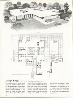 These are beautiful vintage house plans that are efficient, spacious and full of memories!! Vintage house plans! The house plans are from Home Planners 185 Home Plans One Story Designs Over 2,000 S…