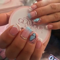 French Nails, Nail Colors, Acrylic Nails, Manicure, How To Look Better, Nail Designs, Make Up, Nail Art, Glitter