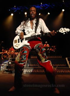 Verdine White - Earth Wind & FIre bass player. Wow.