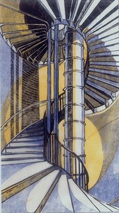 The Tube Staircase, Cyril Power