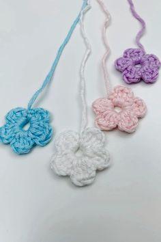 Crochet Cord, Crochet Motif, Diy Crochet, Crochet Designs, Crochet Crafts, Crochet Projects, Crochet Patterns, Learn To Crochet, Crochet Accessories Free Pattern