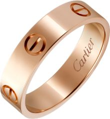 Cartier Rose Gold Ring, Cartier Love Bangle, 18k Rose Gold, Cute Jewelry, Gold Jewelry, Jewelry Rings, Bagan, Ring Ring, Pink