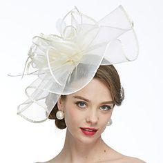 Lightinthebox Net Kentucky Derby Hat / Fascinators / Hats with 1 Wedding / Special Occasion Headpiece Headpiece Wedding, Wedding Veils, Lace Wedding, Bridal Fascinator, Sombreros Fascinator, Kentucky Derby Hats, Wedding Wraps, Fancy Hats, Hats Online