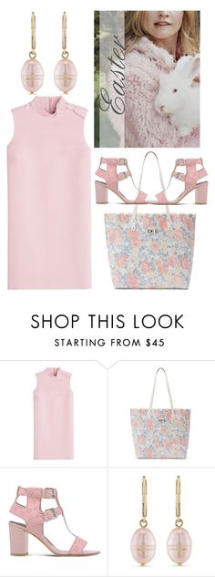 """""""Untitled #9439"""" by queenrachietemplateaddict ❤ liked on Polyvore featuring RED Valentino, Candie's, Laurence Dacade, Carolee, Easter and Pink"""