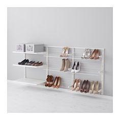 ALGOT Wall upright/shelves/shoe organiser - IKEA