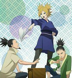 Naruto Couples, Naruto Girls, Cute Anime Couples, Nara, Naruto Sasuke Sakura, Anime Naruto, Naruto Shippuden, Shikadai, Shikatema