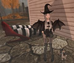 Pastel Goth Fair Wayward Halloween Previews  More second life hump muffin