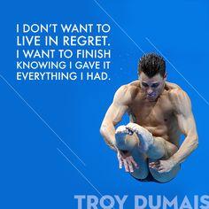 Wednesday Wisdom from Team USA's Troy Dumais