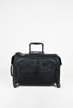 "Tumi Black ""Carry-On 4 Wheeled Garment"" Luggage Bag"