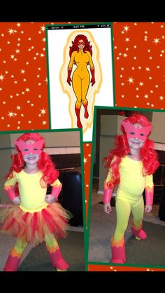 DIY Firestar costume!