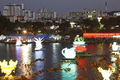 South Korea Bucket List - Lantern Festival at Jinju