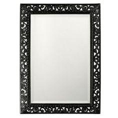 Howard Elliott Rectangle Bristol Glossy Black Mirror