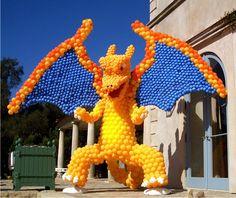 Dragon Balloon Sculpture, Balloon Celebrations ... amazing!