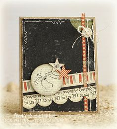 This is an incredible Halloween card--not your average card!