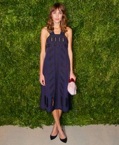 Alexa Chung in Stella McCartney | CFDA/VOGUE Fashion Fund Awards 2014