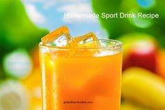homemade sport drink