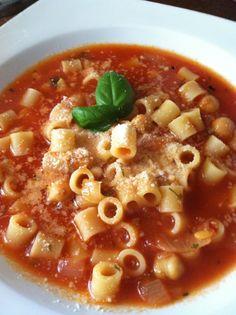 The Rotund Chef- Authentic Italian Recipe. pasta fagioli