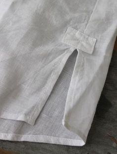 remate de racha em blusa