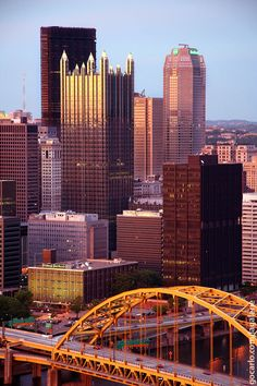 Pittsburgh, PA-Even the little building I used to work is in this picture!