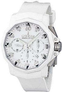 Corum Admirals Cup 44 Automatic White Dial Mens Watch 753.802.02/F379 AA31