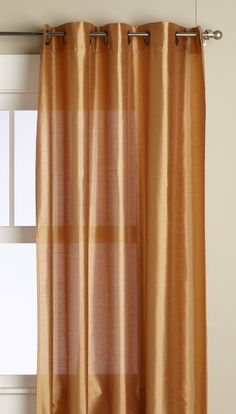 Editex Home Textiles Elaine Window Panel, 58 by 63-Inch, Gold *** Read more reviews of the product by visiting the link on the image. (This is an affiliate link) #WindowTreatments