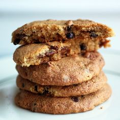 Paleo Bacon Cookies - I made these this weekend and they were so good!  My family polished them off.  I don't think the semi-sweet chocolate chips are fully Paleo... should probably use cacao nibs to make this fully Paleo-friendly.  Would be much less sweet, though.  #Paleo