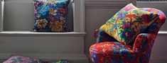 Liberty London Fabrics at No Chintz make brilliant canvases for bespoke creations of all kinds.