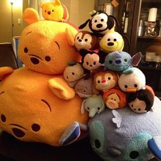 We have been a little busy stacking our #tsumtsum #disney #plush these are very #cute and fun. pic.twitter.com/PGs0t4ungD