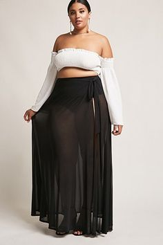 Shop plus size skirts at Forever 21 to find casual and professional styles you love. Browse plus size skirts in denim, mini, pencil, maxi & more. Plus Size Skirts, Plus Size Jeans, Plus Size Outfits, Plus Size Womens Clothing, Plus Size Fashion, Dresser, Maxi Skirt Outfits, Dresses To Wear To A Wedding, Full Figure Fashion