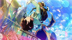 17#朔間凛月 Ritsu Sakuma, Sakuma Rei, Anime Boys, Manga Anime, Summer Knight, Fanart, Boy Poses, Ensemble Stars, Cute Anime Character
