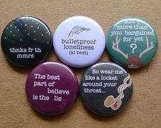 accessories || fall out boy buttons<<< oh my gosh I want these so bad