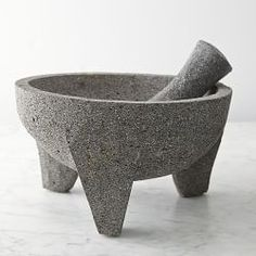 Marble Mortar And Pestle, Molcajete Bowl & Pestles | Williams-Sonoma