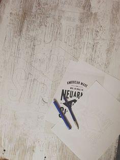 Neu army Surplus Co Wood Signage via www.mr-cup.com