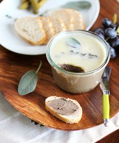 Chicken Liver Pate with Sage, Apple, and Thyme