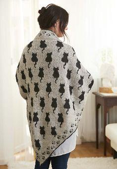 Ravelry: Kat sjaal Sudderudden patroon door Susanne Ljung                                                                                                                                                                                 More