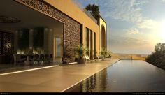 Al Barari Penthouse - Arabic penthouse