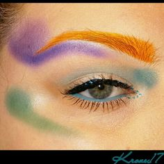 Did I mention I'm artistic? Haha I really want an airbrush machine.  U think I could do some damage with one!   This look was the result of trying to face chart with one palette.  It's kind of graffiti inspired.  Products used:  Sleek Palettes:  Snap Shot  Ultramattes  Lorac Pro Palette  Physicians Formula Black Liner  Jordana Blue Liquid Liner    #art #makeupart #graffiti #artistic #colorful #Sleekmakeup #Lorac #PhysiciansFormula  #bright #jordanacosmetics  #beauty #beautyshot…