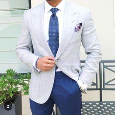 Men shoes.  - mens italian leather shoes, - mens red leather dress shoes,  Click VISIT link above to read more Navy Dress Pants, Men Dress, Dress Shirt, Suit Pants, Blue Pants, Light Blue Suit Jacket, Blue Trousers Outfit, Blazer Jacket, Color Pants