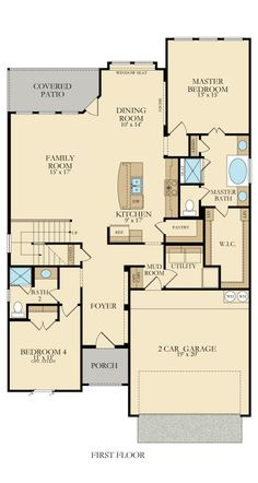 Caddo 4391 New Home Plan in Willow Grove by Lennar