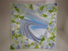 EDELWEISS GALLERY - Glass Plates  another new creation!